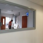 Renovations for reception area